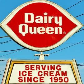 Cynthia Guinn - Dairy Queen Sign