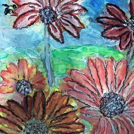 Christine Mulgrew - Daisies and the Bee