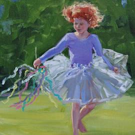Roseann Munger - Daisy in Purple