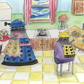Michela Carlson - Daleks Baking cookies