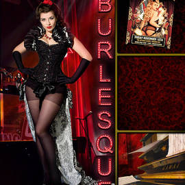 Linda Lees - Dance series - Burlesque