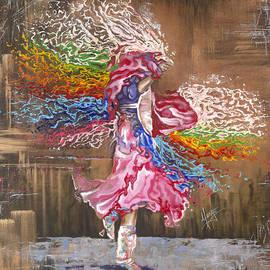 Karina Llergo Salto - Dance through the color of life