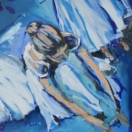 Donna Tuten - Dancers in Blue