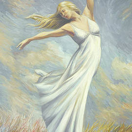 Lucie Bilodeau - Dancing in Monet