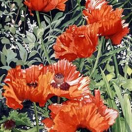 Barbara Jewell - Dancing Poppies