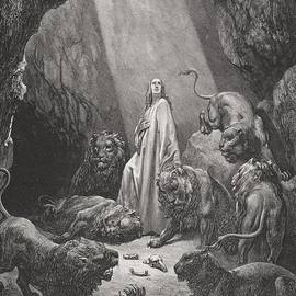Gustave Dore - Daniel in the Den of Lions