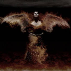 KJ Bruce - Infinity Fusion Art - Dark Angel