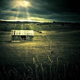 Ryan Jorgensen - Dark Outback Landscape