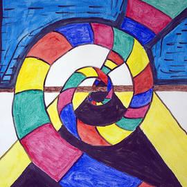 Dark Spiral Rainbow Road