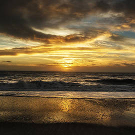 Island Sunrise and Sunsets Pieter Jordaan - Dark Sunrise Amelia Island