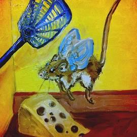 Alexandria Weaselwise Busen - Darn Mouse Flies on Swiss