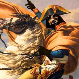 Tony Rubino - Darth Vader Star Wars Napoleon Painting