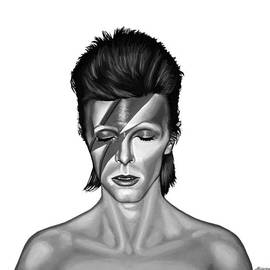 Meijering Manupix - David Bowie Aladdin Sane