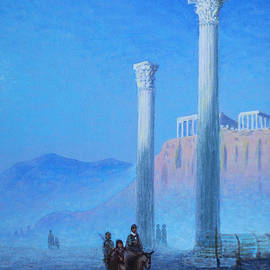 Yuriy Omelyanenko - dawn at Athens