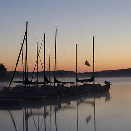 Bill Cannon - Dawn on Lake Nockamixon - Bucks County Pa