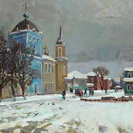 Juliya Zhukova - Day of snow