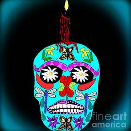 Eva Thomas - Day of the Dead Sugar Skull