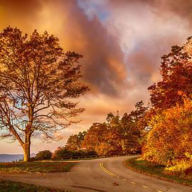 John Haldane - Daybreak on the Blue Ridge Parkway