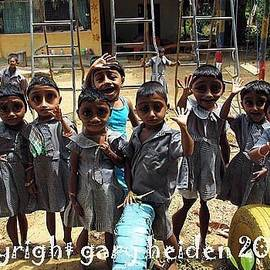 Gary Heiden - Daycare Students in Uniform   Wellawaya