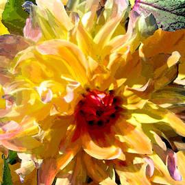 Michele  Avanti - Dazzling Yellow Dahlia