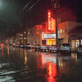 Daniel Furon - December Rain over Balboa Street