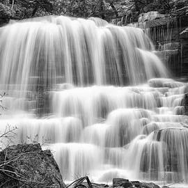 Phill  Doherty - DeCew Falls in Black and White