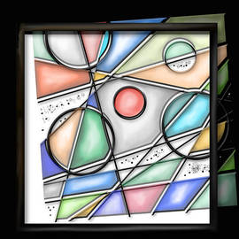 Kathryn L Novak - Deconstructed Stained Glass