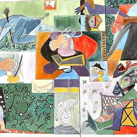 Esther Newman-Cohen - Deconstructing Picasso The Sigh of the Wounded