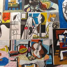 Esther Newman-Cohen - Deconstructing Picasso - Women and Musicians