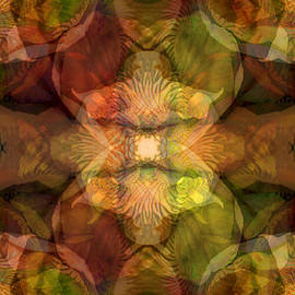Lynda Lehmann - Deepening Mystery Rich Floral Tapestry