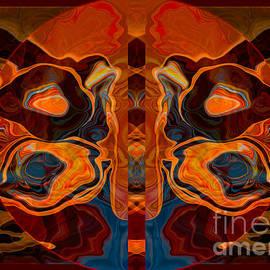 Omaste Witkowski - Deities Abstract Digital Artwork