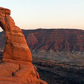 Nicholas Blackwell - Delicate Arch Panorama