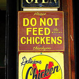 Catherine Sherman - Delicious Chicken Dinners Sign
