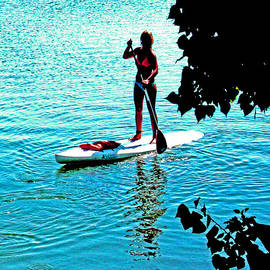 Joseph Coulombe - Delta Paddle Boarding