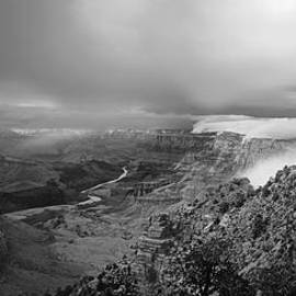 Steven Barrows - Departing Storm Grand Canyon at Desert View