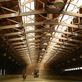 Kathy Barney - Derbyshire Stables Indoor Riding Ring