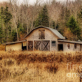 Vickie Emms - Derelict Barn In the Alagash