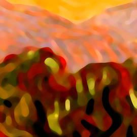 Amy Vangsgard - Desert Olive Trees