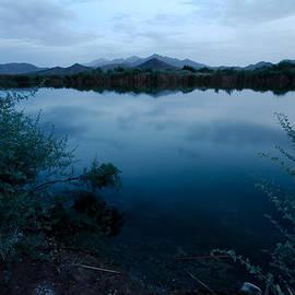 Ed  Cheremet - Desert Pond in Reflection