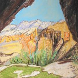 Esther Newman-Cohen - Desert View from the Cave