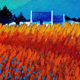John  Nolan - Detail from Golden Wheat Field