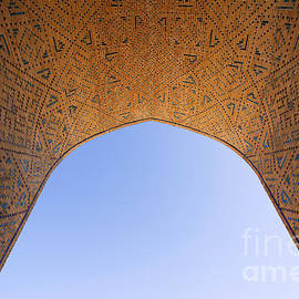 Robert Preston - Detail of the Kalon Mosque at Bukhara in Uzbekistan