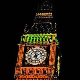 Michael Braham - Detailed View Of Londons Big Ben