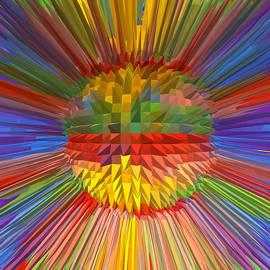 Navin Joshi - Diamond Energy Flower Flow Spectrum Reiki Healing Graphic Colorful Rainbow Navinjoshi Lowprice Sale