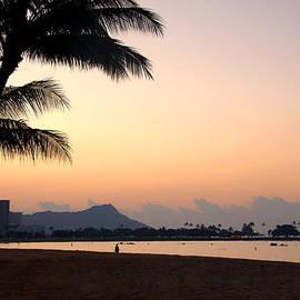 Brian Harig - Diamond Head Sunrise - Honolulu Hawaii