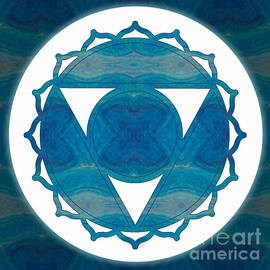 Omaste Witkowski - Dimensional Communications Abstract Chakra Art by Omaste Witkows