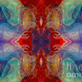 Omaste Witkowski - Dimensional Realities Abstract Pattern Artwork by Omaste Witkowski