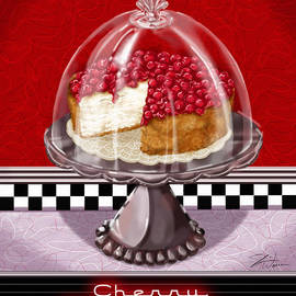 Shari Warren - Diner Desserts - Cherry Cheesecake