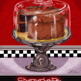 Shari Warren - Diner Desserts - Chocolate Cake
