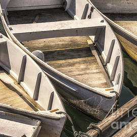 Jerry Fornarotto - Dinghies Dockside Faded